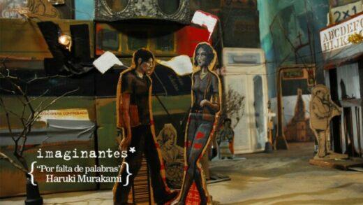 Haruki Murakami - Por falta de palabras | Imaginantes*. Corto animación