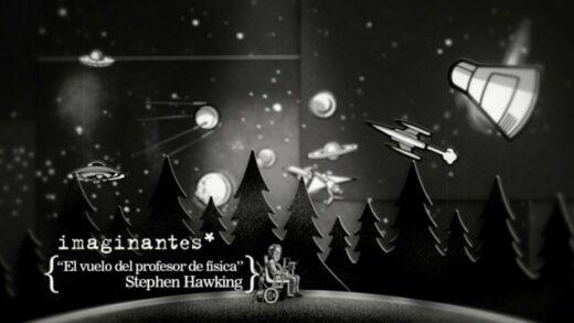 Stephen Hawking - El vuelo del profesor | Imaginantes*. Corto animación