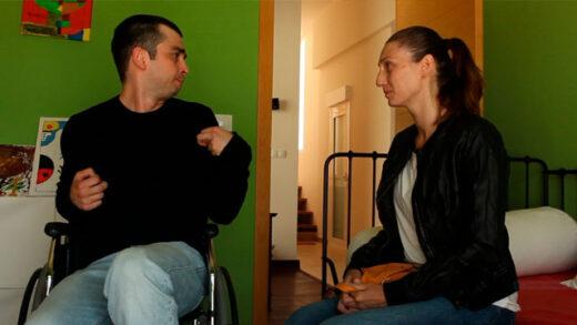 Las alas de Néstor. Cortometraje y drama sobre discapacidad de Óliver Gil