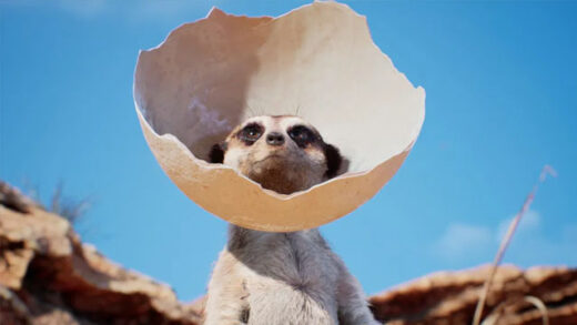 Meerkat. Cortometraje de animación de Weta Digital