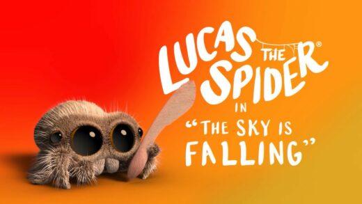 Lucas la araña - El cielo está cayendo. Corto de animación Joshua Slice
