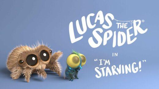 Lucas la araña - Estoy Hambriento. Corto de animación Joshua Slice