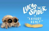Lucas la araña – ¿Hay alguien en casa?. Corto de animación Joshua Slice