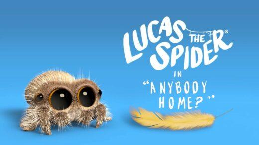 Lucas la araña - ¿Hay alguien en casa?. Corto de animación Joshua Slice