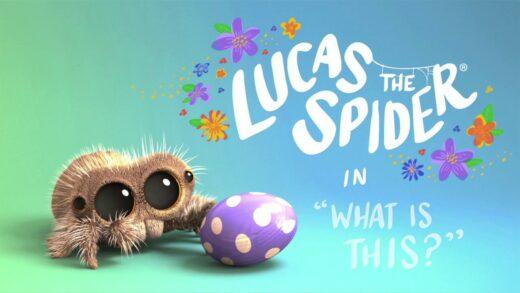 Lucas la araña - ¿Que es eso?. Cortometraje de animación Joshua Slice