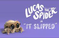 Lucas la araña – Se deslizó. Cortometraje de animación Joshua Slice
