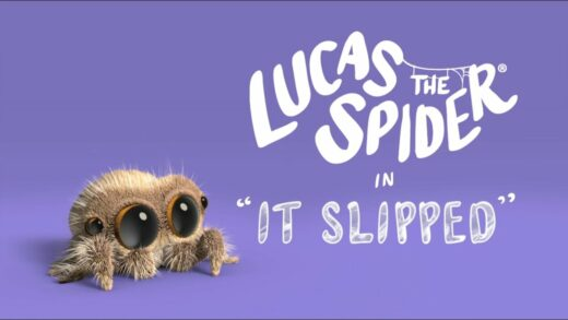 Lucas la araña - Se deslizó. Cortometraje de animación Joshua Slice