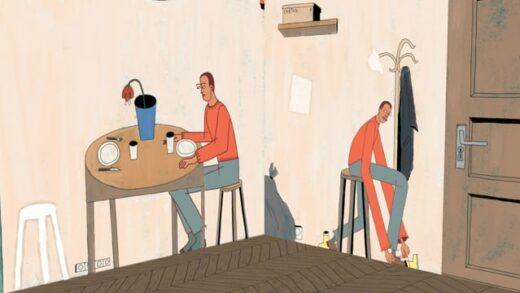 Novembre. Cortometraje de animación de Salomé Hammann