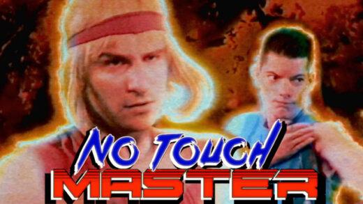 No Touch Master. Cortometraje y comedia de acción de Charles-Antoine