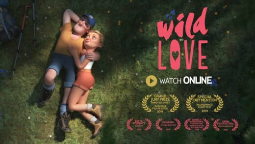 Amor salvaje. Cortometraje de animación de Paul Autric y Quentin Camus