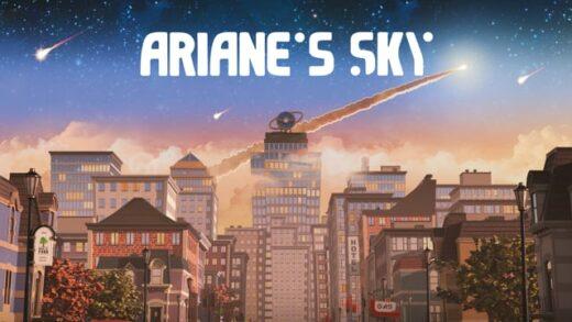 Ariane's Sky. Cortometraje de animación de Amer Abou-Rizk