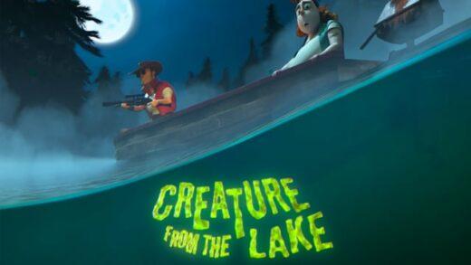 Creature from the lake. Cortometraje de animación de Renata Antunez