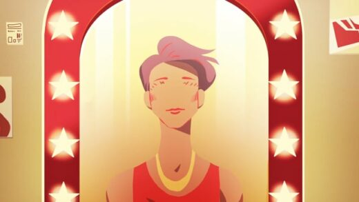 GUM (Growing up man). Cortometraje de animación de Noémie Blondel