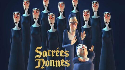 Sacrées Nonnes. Cortometraje de animación de Anissa Beddiaf
