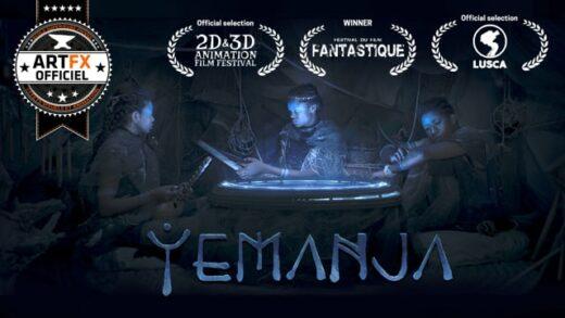 Yemanja. Cortometraje de ciencia ficción de Fréderic Gaudin