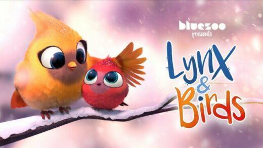 Lynx & Birds. Cortometraje y comedia de animación de Blue-Zoo