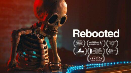 Rebooted. Cortometraje y drama de cine fantástico de Michael Shanks