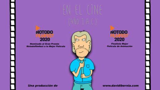 En el cine (Año 1 A.C.) Cortometraje y comedia española de David Ibernia